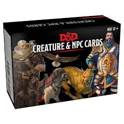 Dungeons and Dragons: Spellbook Cards - Creature and NPC