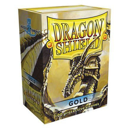 Dragon Shield 100 Pack: Gold