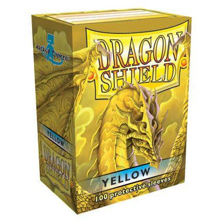 Dragon Shield 100 Pack: Yellow
