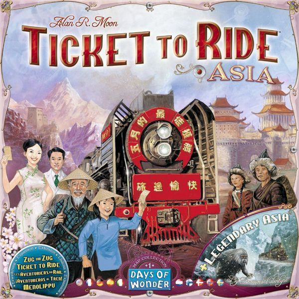 Ticket to Ride Map Collection: Volume 1 – Team Asia & Legendary Asia (Backorder)