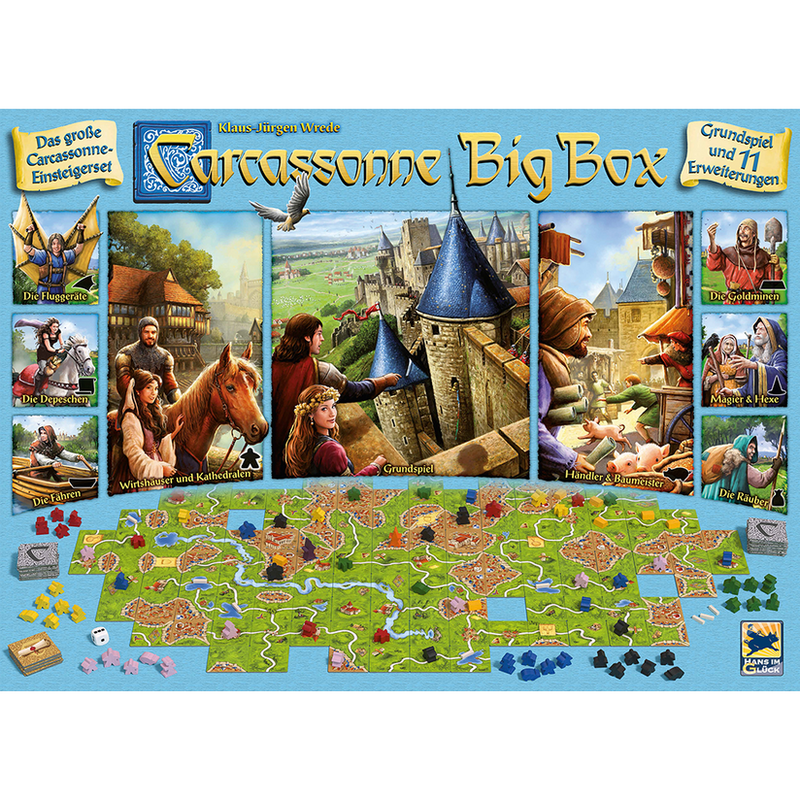 Carcassonne: Big Box 2017