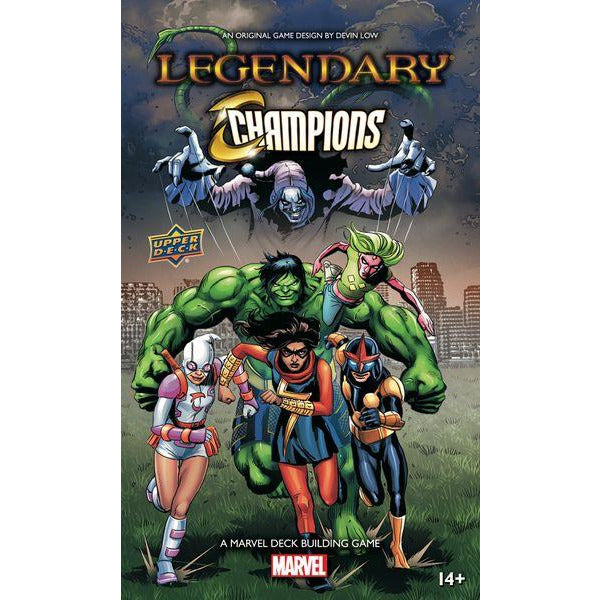 Legendary: A Marvel Deck Building Game – Champions