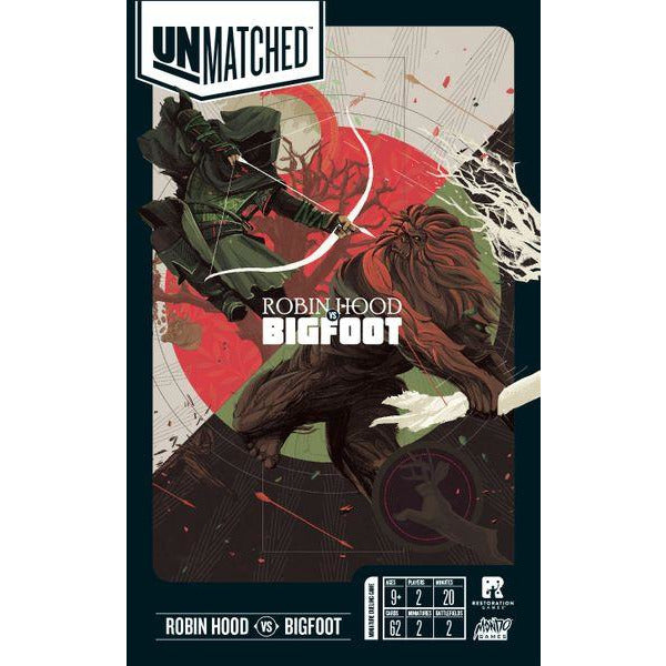 Unmatched: Robin Hood VS Bigfoot