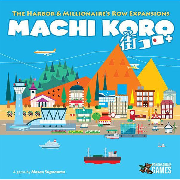 Machi Koro: Harbor and Millionaire's Row Combo