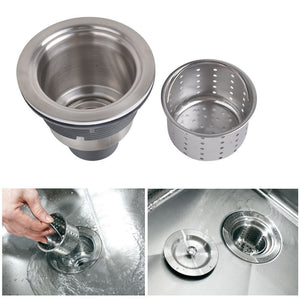 "33"" X 20"" Stainless Steel Farm Apron Singler Bowl Kitchen Sink"