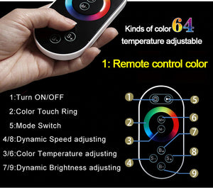 Bluetooth Smart Shower Set Rainfall Showerhead 304 SUS Remote Control Led Ceiling Black Shower Faucets Thermostatic Massage Showers