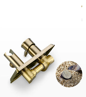 Brushed Gold&Black Bathroom Bidet Spray Tap 2 Function Concealed Hot And Cold Mixer Bidet Sprayer Douche Shower Toilet Sprayer