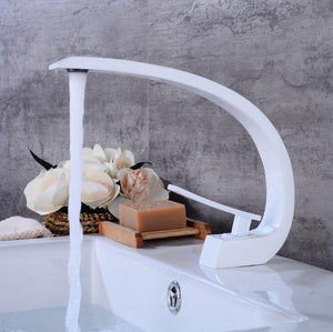 Rose Gold and Two Tone Colors Single Hole Faucet Model XT-419