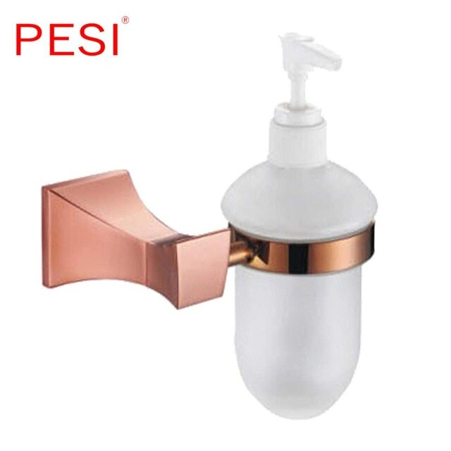 Brushed Rose Gold Bathroom Accessories