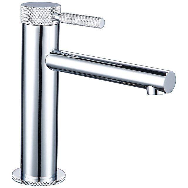 Brushed Gold Single Hole Bathroom Lavatory Faucet