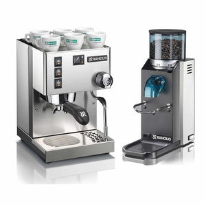 Rancilio Silvia V4, Rocky and Drawer Base - Home Espresso Machine Pack! - Italy
