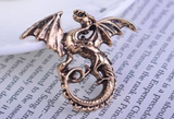 2017 Juego De Tronos Brooches Corsage Brooch Men's Suits Animal Collar Pin Buckle. Domineering Dragon Blood For Brothers Buckle