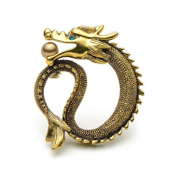High Quality Dragon Brooch