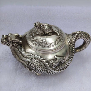 China antique Dragon teapot.  If you drink tea and you love dragons this is obviously a must.  Enjoy it for many years to come!  Can you imagine Christmas and Thanksgiving even the kids will go crazy about drinking tea out of this fun thing.