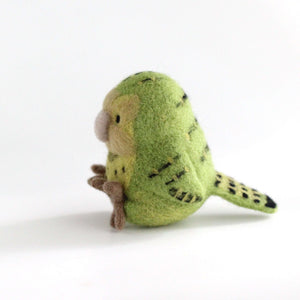 Needle Felted Kakapo by Wild Whimsy Woolies