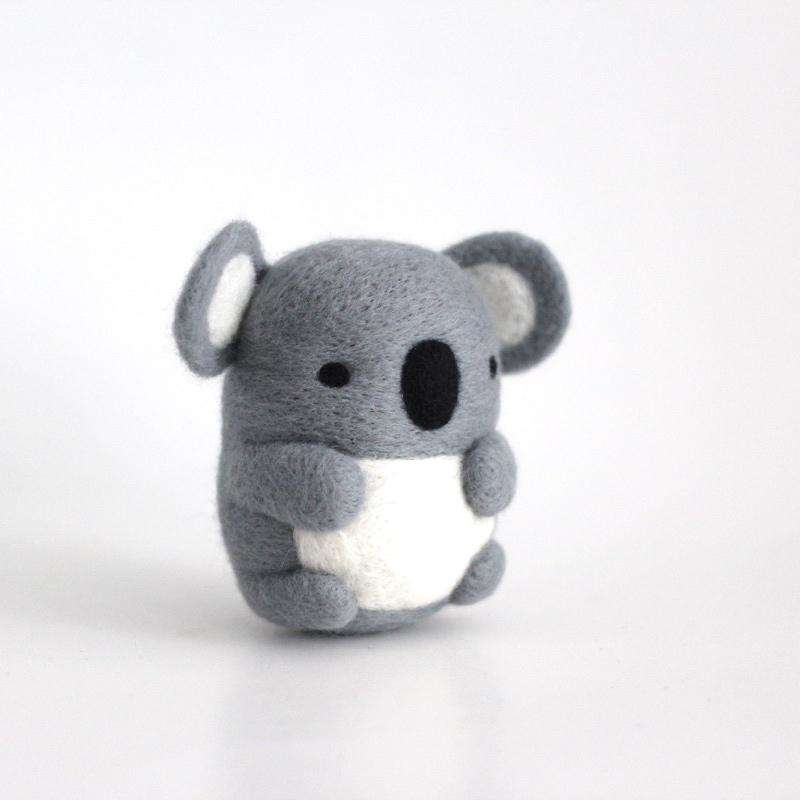 Needle Felted Koala by Wild Whimsy Woolies