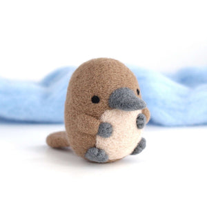 Needle Felted Platypus by Wild Whimsy Woolies