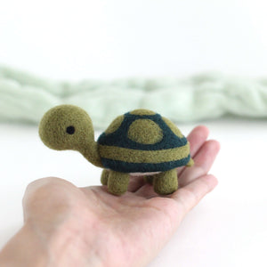 Needle Felted Turtle by Wild Whimsy Woolies