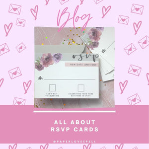 ALL ABOUT RSVP CARDS
