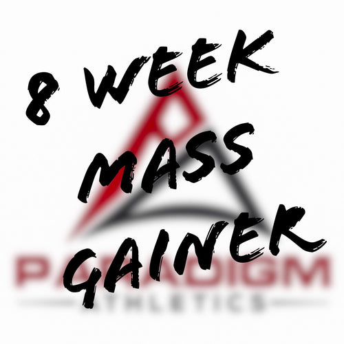 Mass Gainer Program- 8 Weeks