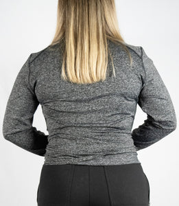 Women's Premium Quarter Zip Sweater