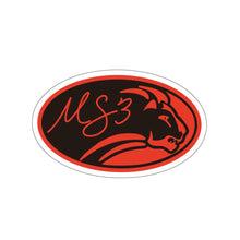 Oval Lion Sticker