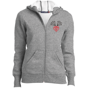"Ladies' ""3 Diamonds"" Zip Hoodie"
