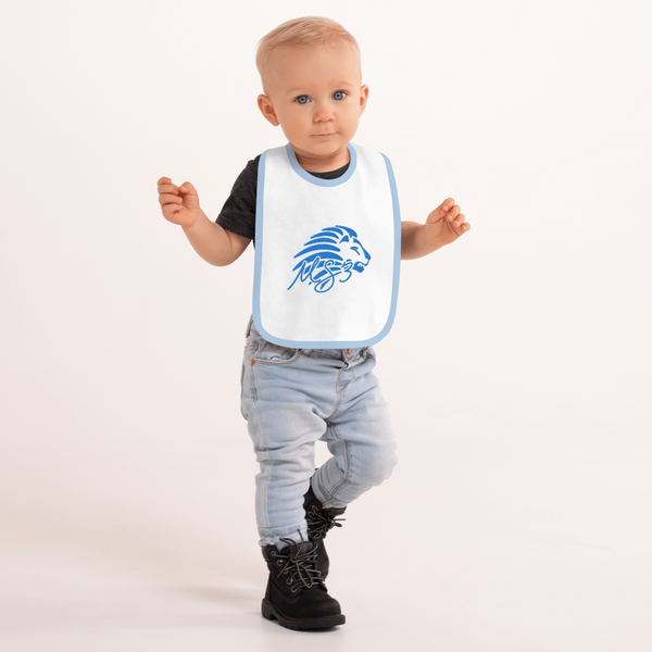Embroidered MS3 Lion Bib