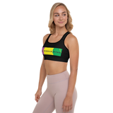 Colorful Padded Sports Bra