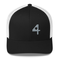 """The Grey 4"" Trucker Kap"