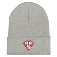 Custom Diamond Cuffed Beanie