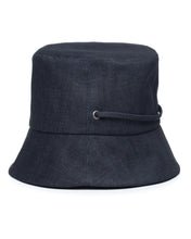 Dark Denim Bucket Hat Side