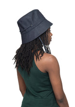 Dark Denim Bucket Hat Side 1