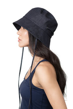 Dark Denim Bucket Hat Side 2