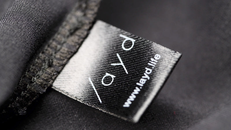 LAYD Silk Lining Label