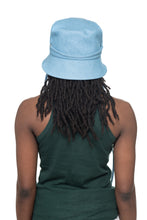 Light Denim Bucket Hat Back 2