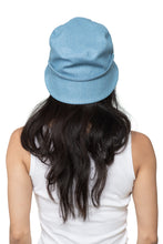 Light Denim Bucket Hat Back 1