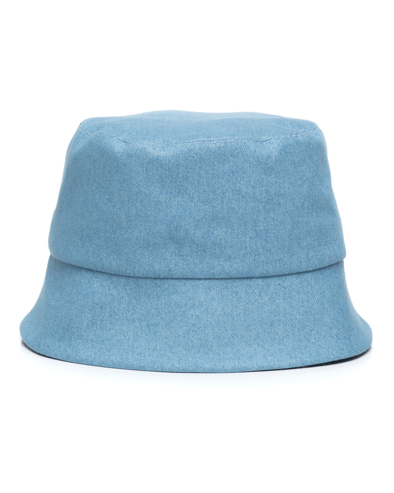 Light Denim Bucket Hat Front