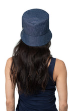 Mid Denim Bucket Hat Back 2