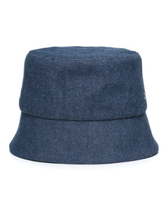 Mid Denim Bucket Hat Front