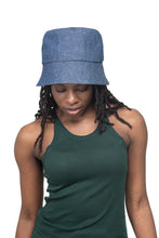 Mid Denim Bucket Hat Front 1