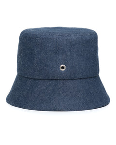 Mid Denim Bucket Hat Side