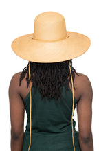 Natural Panama Straw Hat Back 1