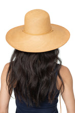 Natural Panama Straw Hat Back 2