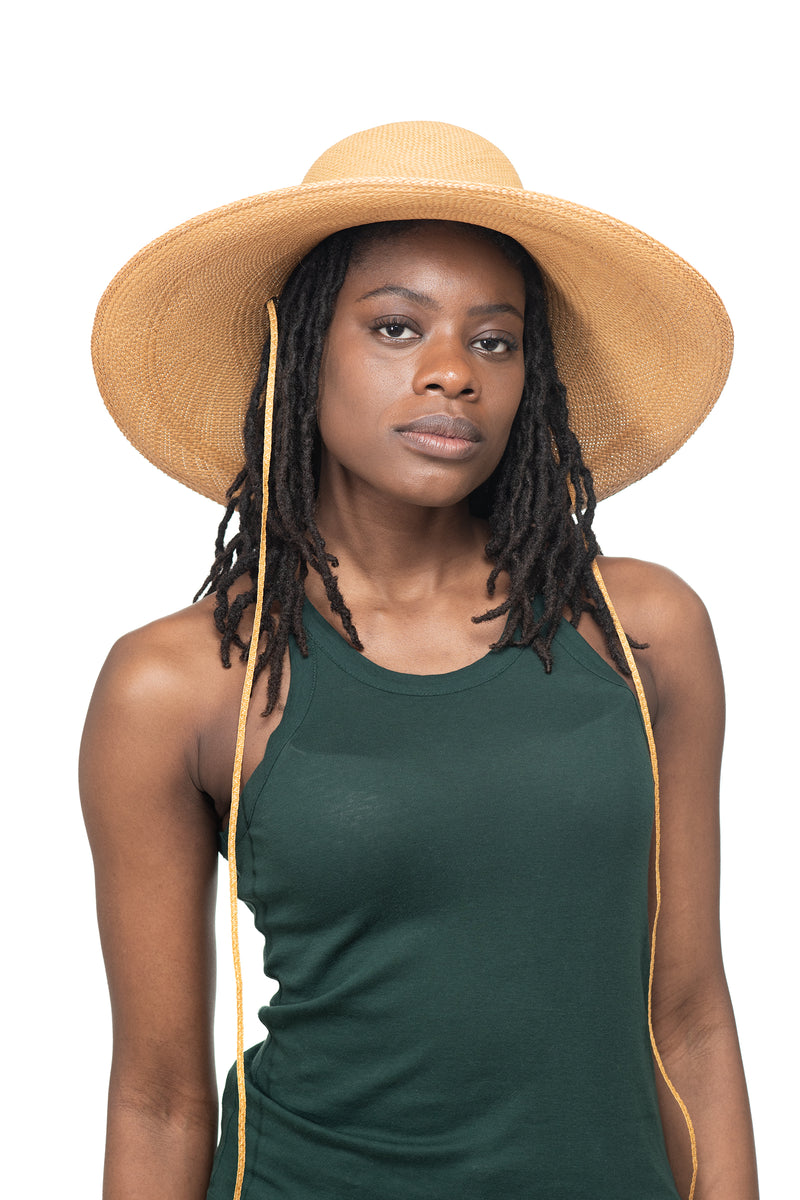 Natural Panama Straw Hat Front 1