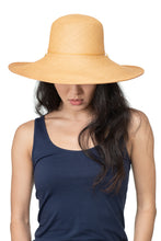 Natural Panama Straw Hat Front 2