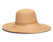 Natural Panama Straw Hat Side