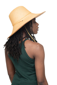 Natural Panama Straw Hat Side 1