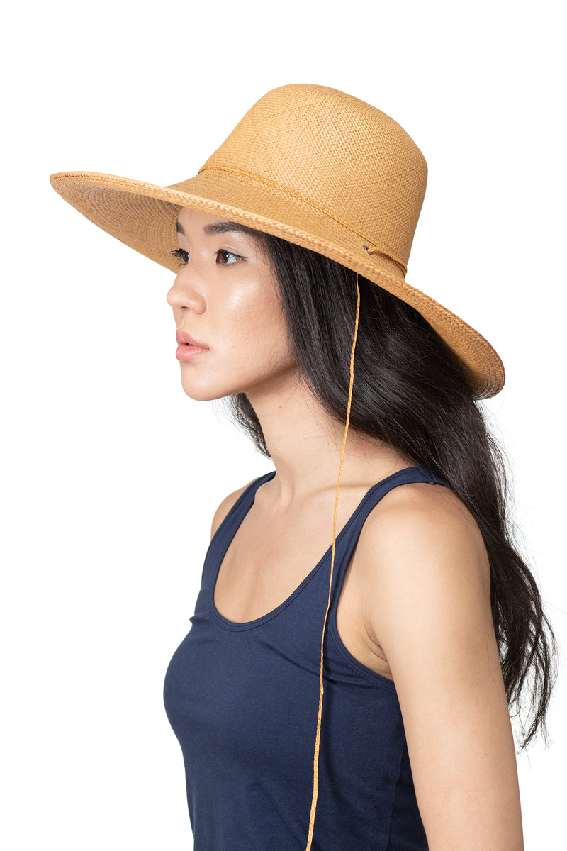 Natural Panama Straw Hat Side 2