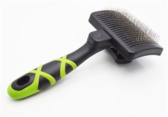HelloPet USA - Small Self-Cleaning Slicker Brush